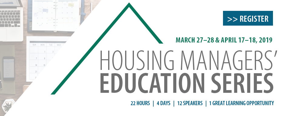 Housing Managers' Education Series
