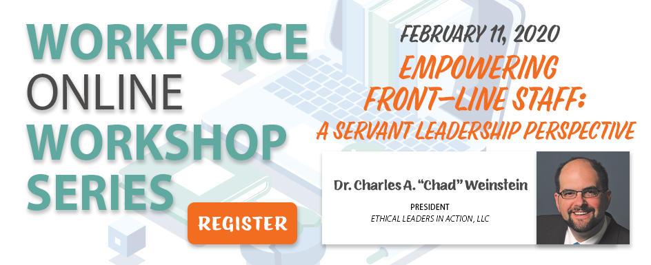 Sign up for the fifth workforce series online workshop